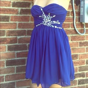 Deb blue Homecoming / Prom dress